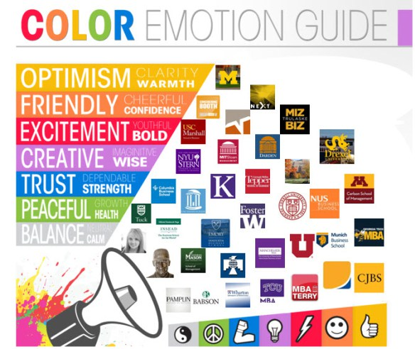 blog branding color guide MBA