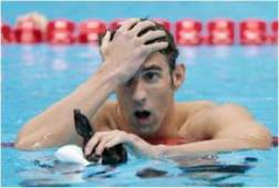 Michael Phelps wishes he got that MBA