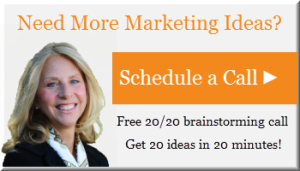 Schedule a 20/20 Brainstorming Call